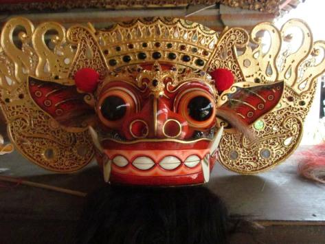 Barong Ket mask by Tisnu.