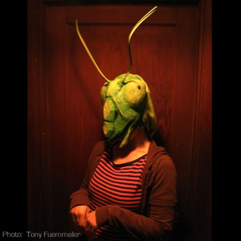 Coy. So coy. Just a like a mantis.