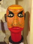 After some more research on wikipedia, it seems that these heads are records of some makeup styles for performers of the Theyyam cult.