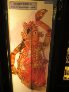 Shadow Puppet from Andhra Pradesh.