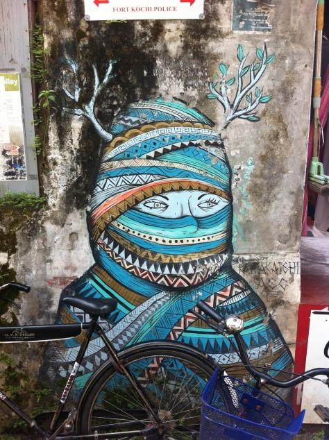 Street art in Kochi