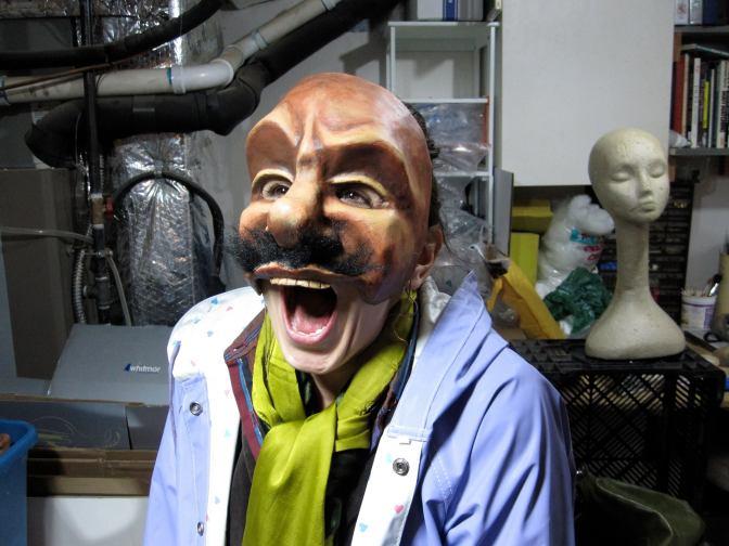 Mask Making Intensive Workshop in Portland: March 27-29