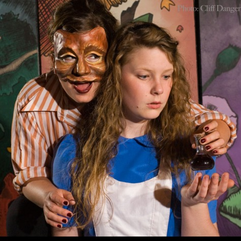 The Cheshire Cat and Alice