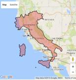 Italy, In the California Region