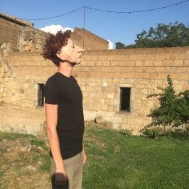 Marcel explores his character through a walk outdoors.