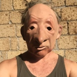 The mask I worked with to devise a scene with my group